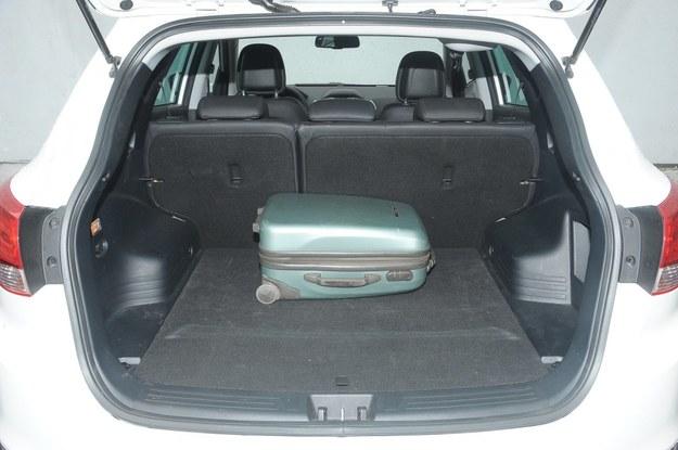 ix35 bagażnik /Motor