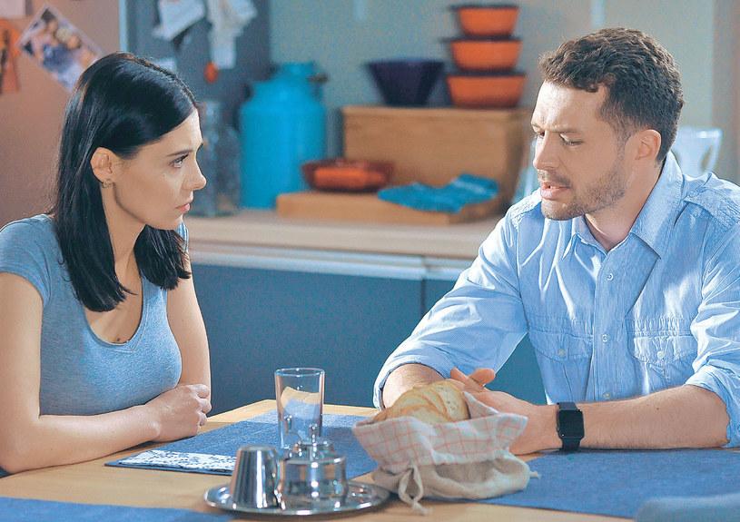 """Iza i Tomek z """"M jak miłość"""" /Agencja W. Impact"""