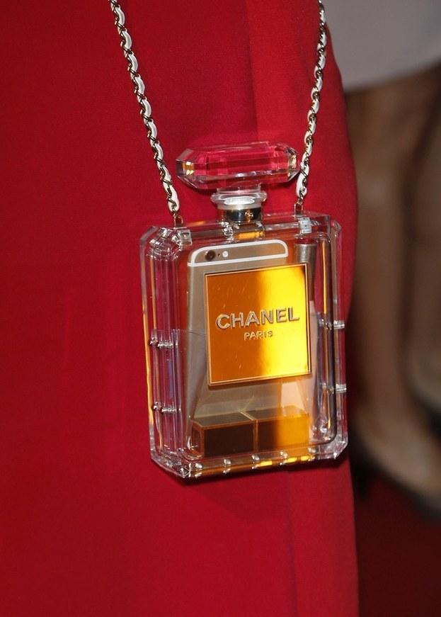Iza Janachowska z torebką Chanel /- /MWMedia