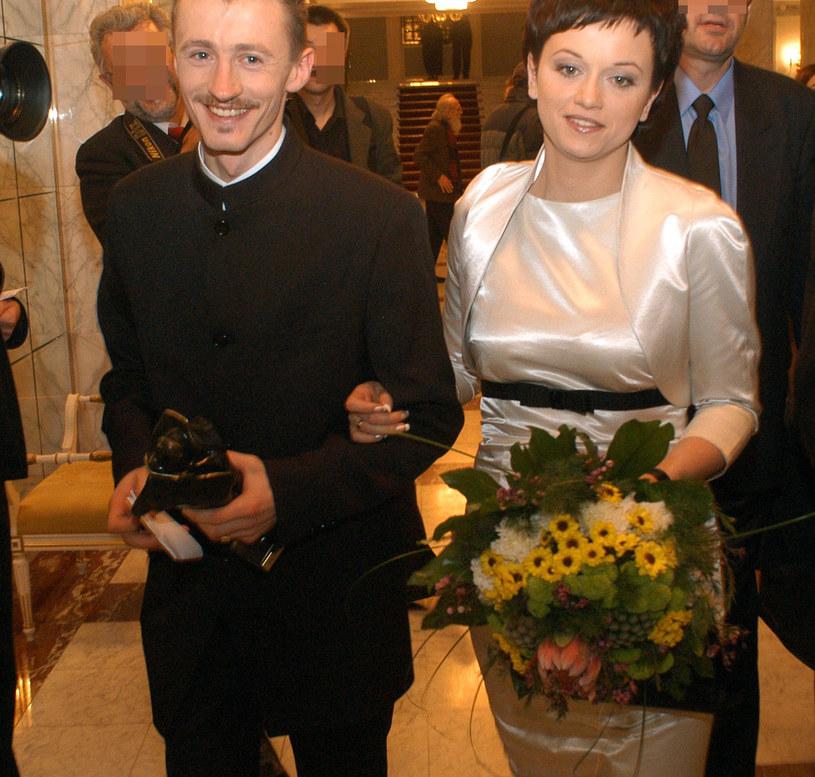 Iza Małysz i Adam Małysz /Adam Chelstowski /Agencja FORUM