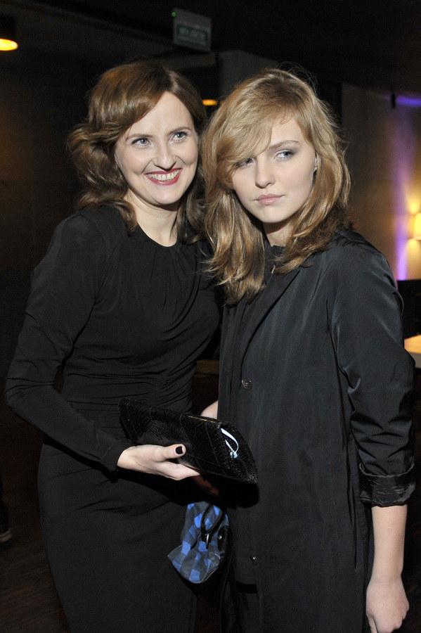 Iza z córką /- /AKPA