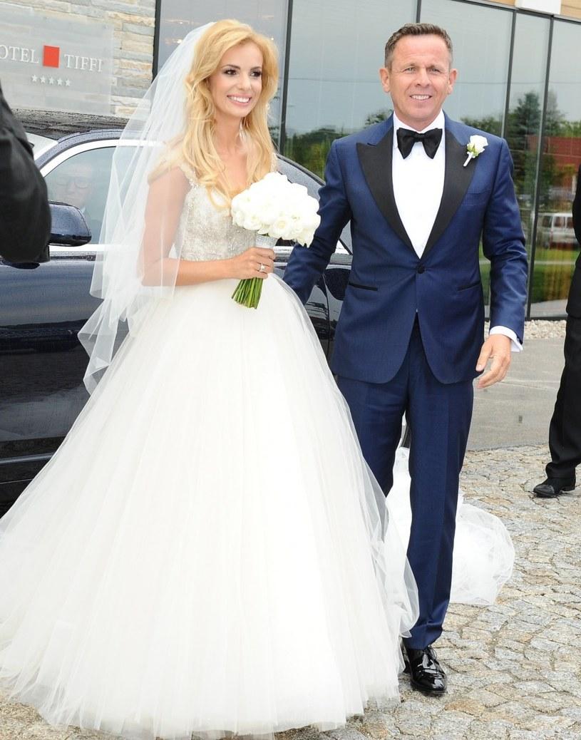 Izabela Janachowska i Krzysztof Jabłoński /VIPHOTO /East News
