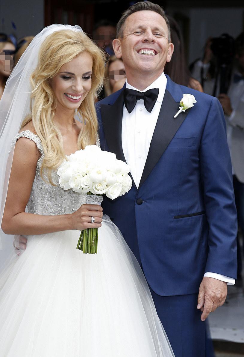 Izabela Janachowska z mężem, Krzysztofem Jabłońskim /AKPA