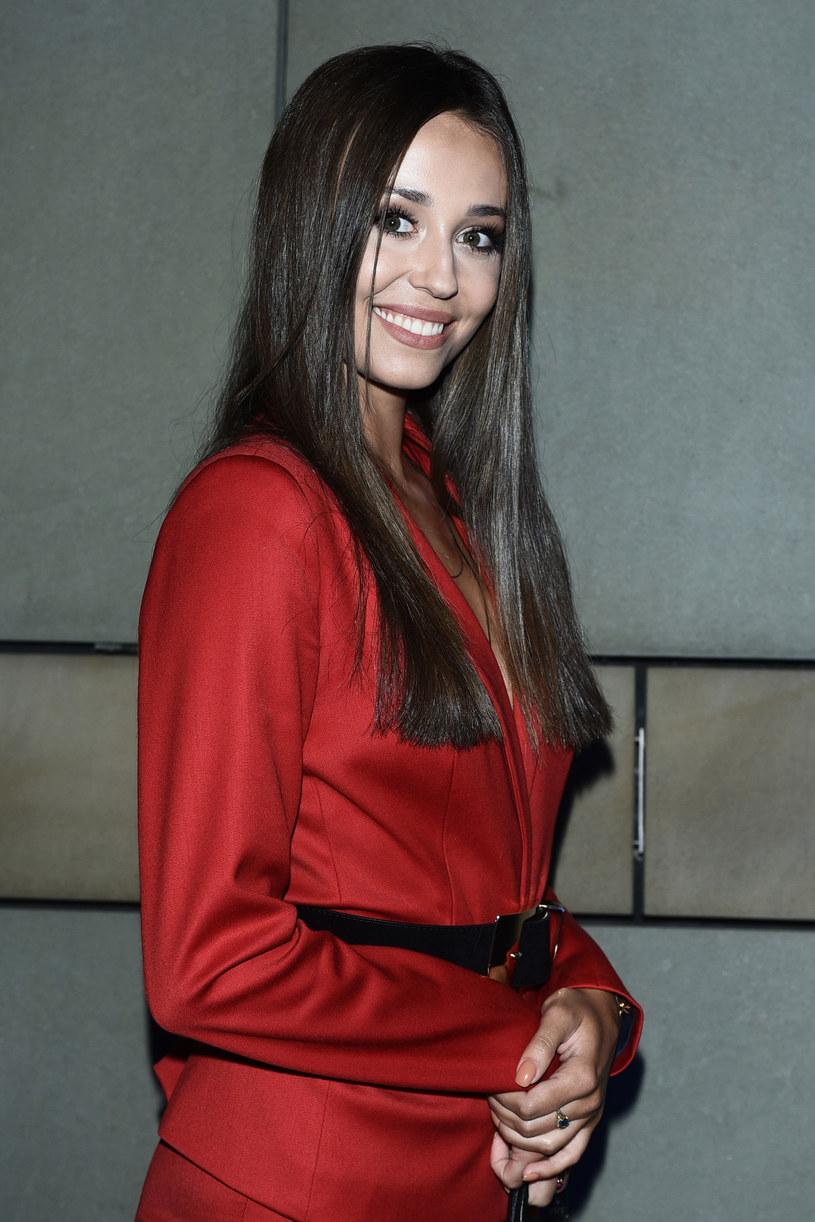 Izabela Krzan podczas prezentacji jesiennej ramówki TVP /VIPHOTO /East News