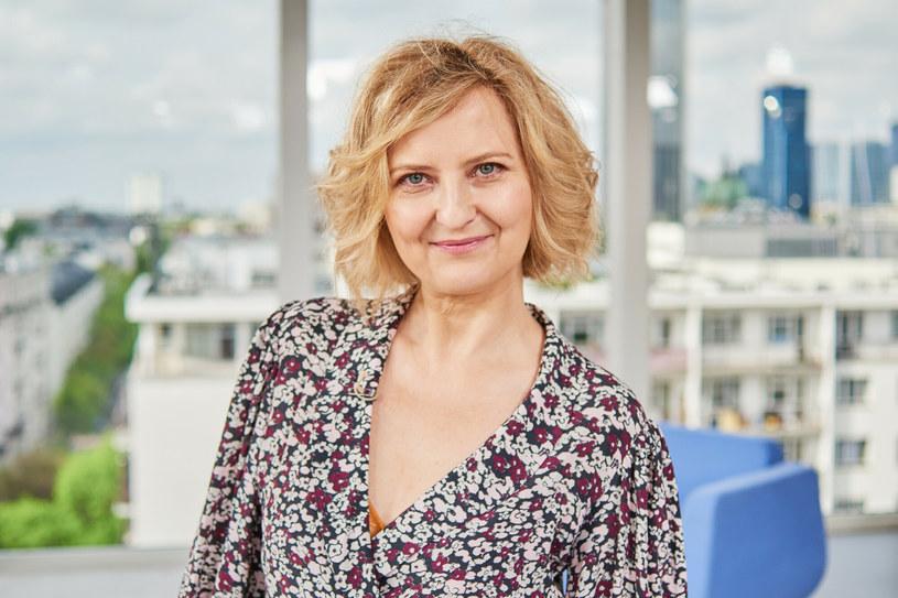 Izabela Kuna jest wykładowczynią w Akademii Teatralnej im. Aleksandra Zelwerowicza w Warszawie /TOMASZ URBANEK/Dzien Dobry TVN /East News