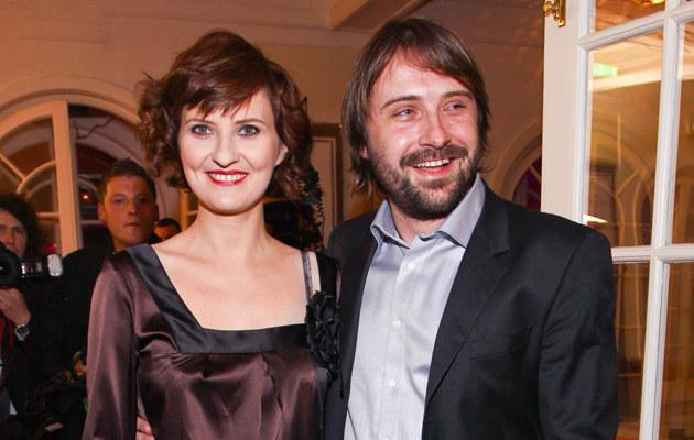 Izabela Kuna z partnerem /fot.Paweł Przybyszewski  /MWMedia