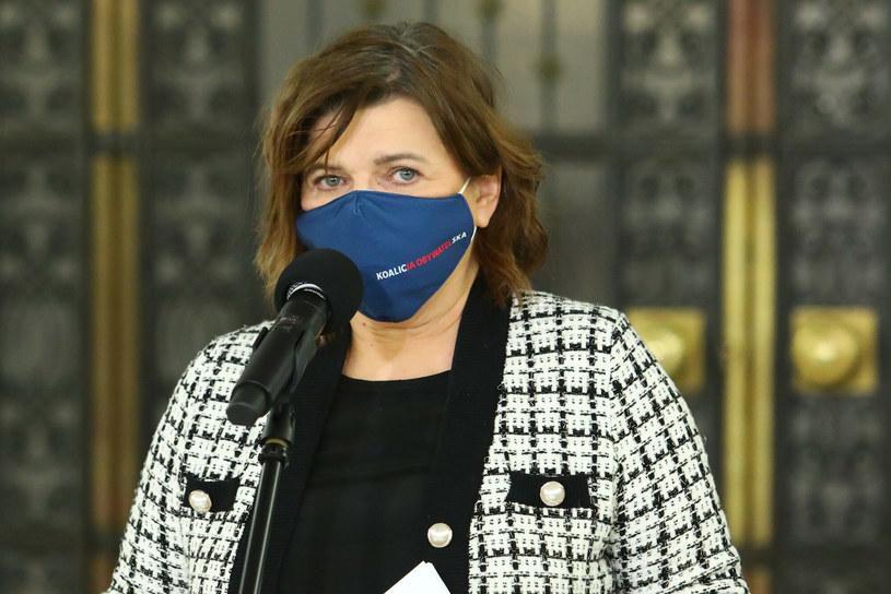 Izabela Leszczyna /Fot. Tomasz Jastrzębowski/REPORTER /Reporter