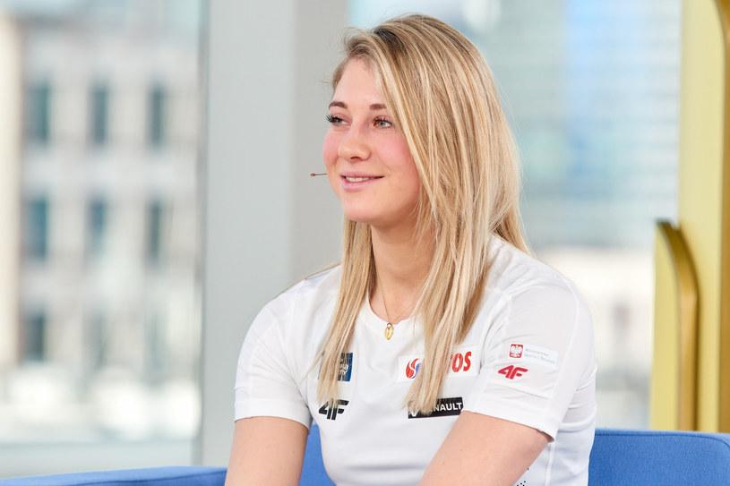 Izabela Marcisz jest naszą wielką nadzieją w biegach narciarskich /TOMASZ URBANEK/Dzien Dobry TVN /East News