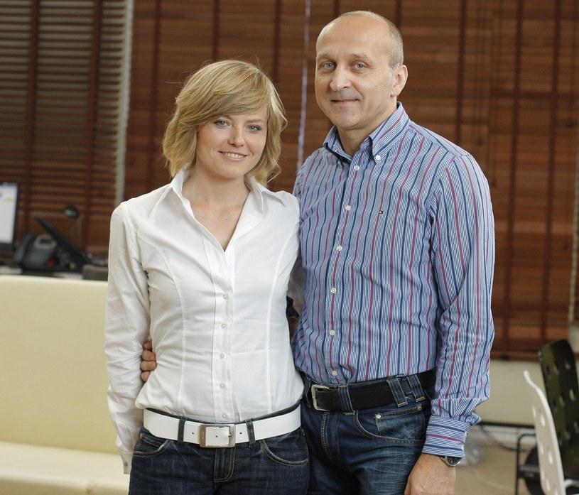 Izabela Olchowicz i Kazimierz Marcinkiewicz w 2009 roku /Bartosz Krupa /East News
