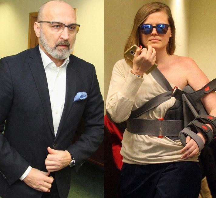 Izabela Olchowicz i Kazimierz Marcinkiewicz /Marcin Smulczyński /East News