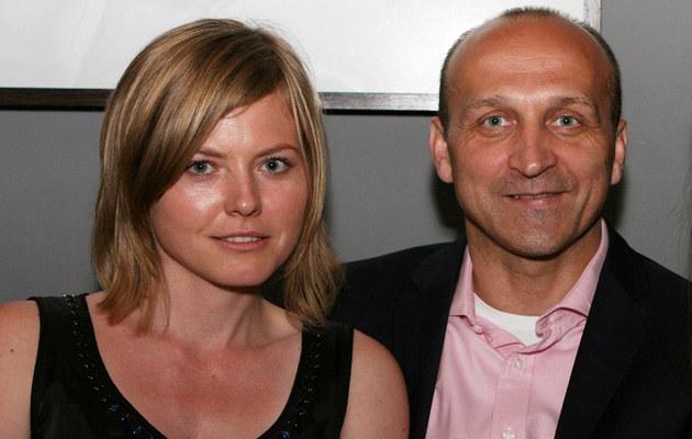 Izabela Olchowicz, Kazimierz Marcinkiewicz, fot.Jerzy Jóźwiak  /East News