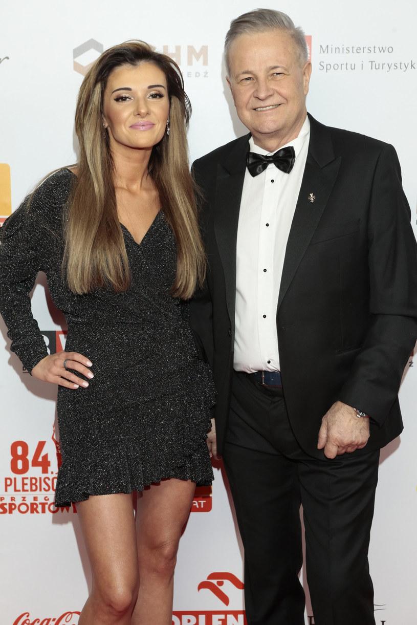 Izabela Podolec-Tajner i jej mąż Apoloniusz Tajner /Adam Jankowski/REPORTER /East News