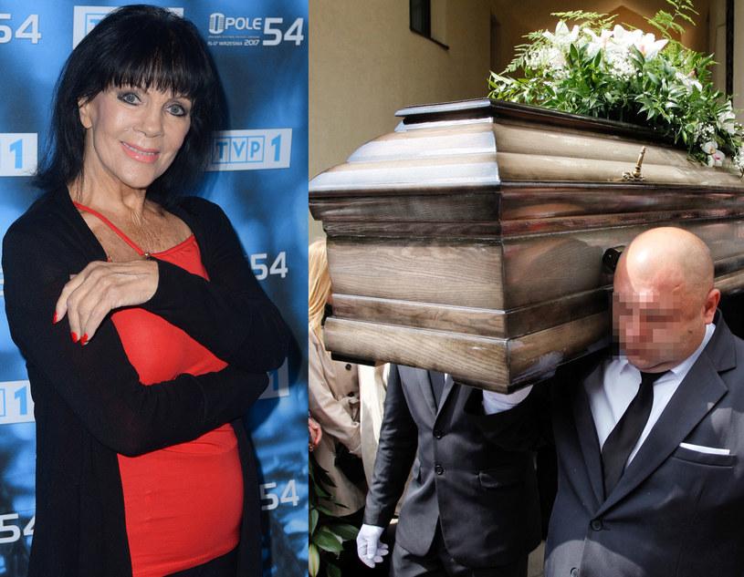 Izabela Skrybant-Dziewiątkowska spoczęła na cmentarzu we Wrocławiu, fot. MWMedia/Jarosław Antoniak /Aleksander Koźmiński /PAP