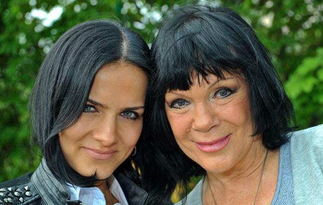 Izabela Skrybant z córką Katarzyną Dziewiątkowską, fot.Filip Błażejowski  /Agencja FORUM