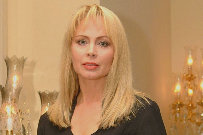 Izabela Trojanowska w 2001 roku /Prończyk /AKPA