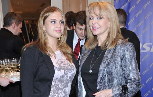 Izabela Trojanowska z córką, fot. Jarosław Antoniak  /MWMedia