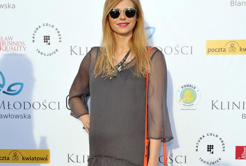 Izabela Zwierzyńska oczekuje pierwszego dziecka /VIPHOTO/EAST NEWS  /MWMedia