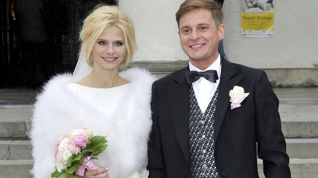 Izabela Zwierzyńska z mężem Stanisławem Gliniewiczem /Mieszko Pietka /AKPA