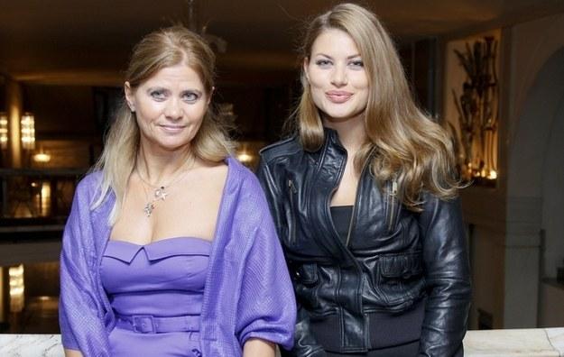 Izabella Kisio-Skorupa ze swoją córką Olą Kisio /Agencja FORUM