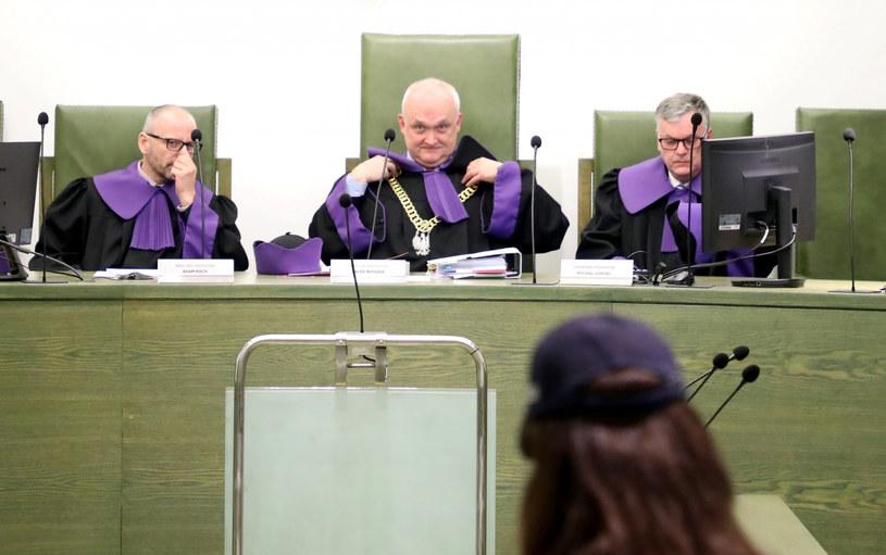 Izba dyscyplinarna SN zajęła się spawą sędziego Juszczyszyna, na zdjęciu sędziowie: Adam Roch, Jacek Wygoda, Michał Górski /Piotr Molecki /East News