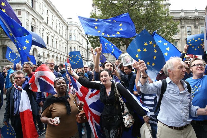 Izba Gmin w Londynie będzie dziś debatować nad petycją w sprawie powtórzenia unijnego referendum /JUSTIN TALLIS /AFP