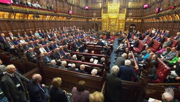 Izba Lordów /PAP/PA /PAP/PA