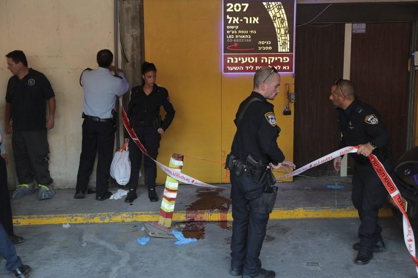 Izrael: Krwawe ataki w Tel Awiwie i na Zachodnim Brzegu /PAP/EPA