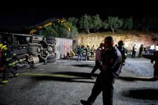 Izrael. Nowe fakty w sprawie wypadku autobusu z dziećmi. 76-letni kierowca notorycznie karany