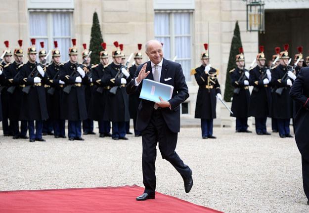 """Izrael określił propozycję Laurenta Fabiusa (na zdjęciu) słowem """"groźba"""" /AFP"""