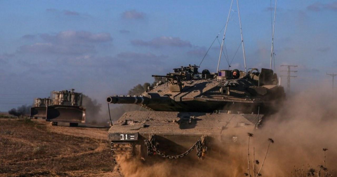 Izrael rozpoczął ofensywę lądową w Strefie Gazy