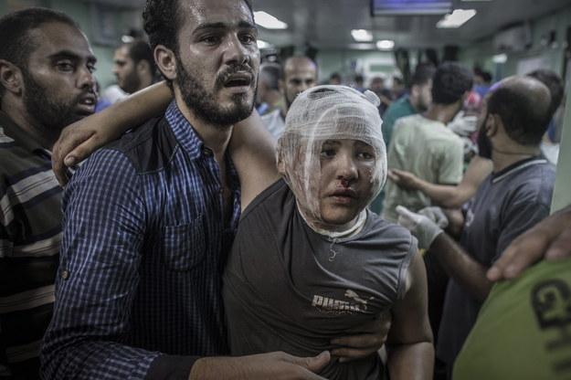 Izrael zbombardował szkołę ONZ w Strefie Gazy. Jest wiele ofiar i rannych