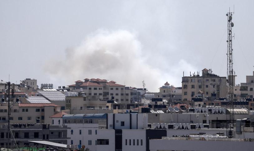 Izraelska armia potwierdza nalot na Strefę Gazy, zdj. ilustracyjne /MAHMUD HAMS /AFP