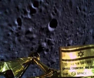 Izraelska sonda rozbiła się na Księżycu