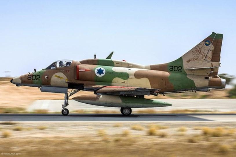 Izraelski A-4 Skyhawk /Wikimedia Commons /INTERIA.PL/materiały prasowe