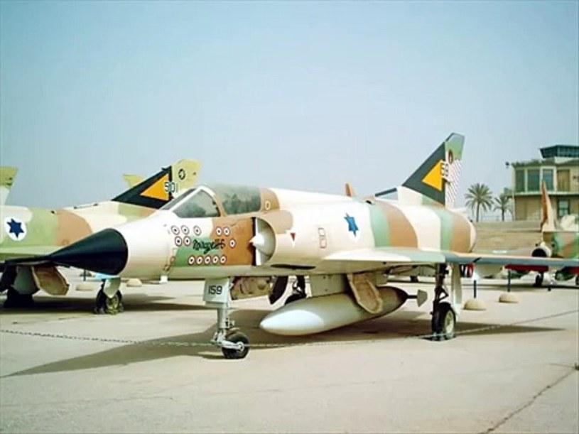 Izraelski Dassault Mirage III /Wikimedia Commons /INTERIA.PL/materiały prasowe