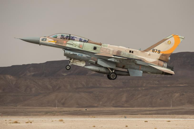 Izraelski F-16I podczas startu do zadania szkoleniowego /Li Rui/Xinhua/Photoshot/REPORTER /East News