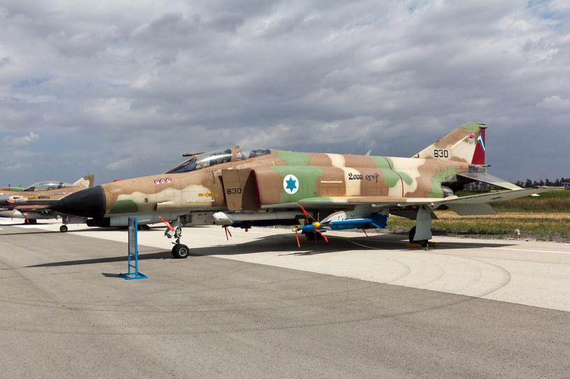 Izraelski F-4E Phantom w barwach 201. Dywizjonu /INTERIA.PL/materiały prasowe