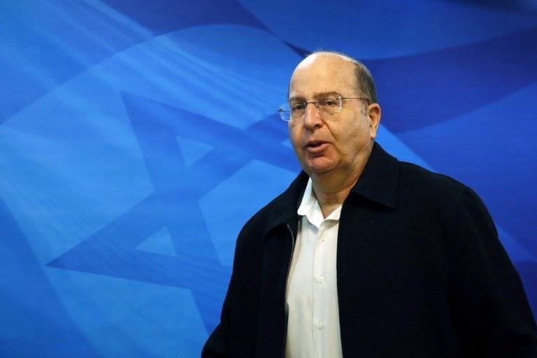 Izraelski minister obrony Mosze Yaalon /AFP