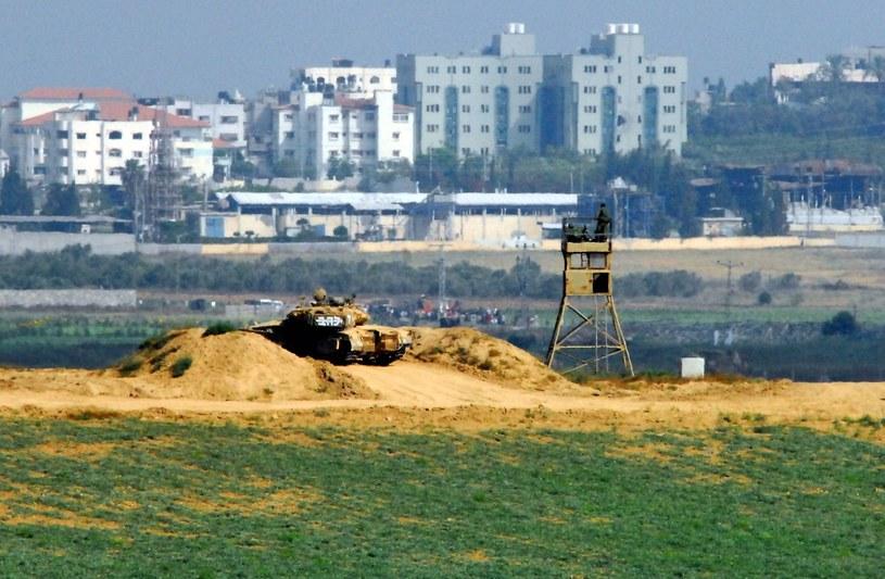 Izraelski patrol w Strefie Gazy, zdj. ilustracyjne /Rafael Ben-Ari /East News