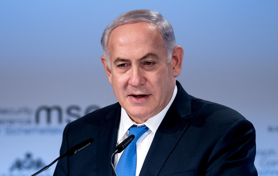Izraelski premier  Benjamin Netanjahu /\Sven Hoppe /PAP/DPA
