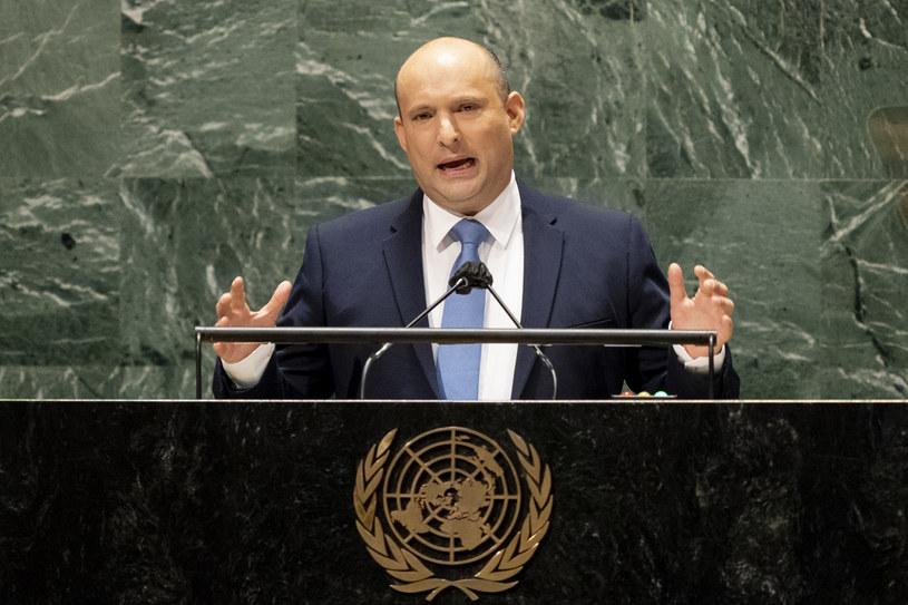 Izraelski premier Naftali Benet /AFP