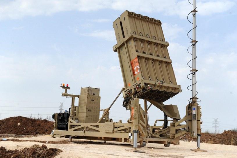 Izraelski system Iron Done /INTERIA.PL/materiały prasowe