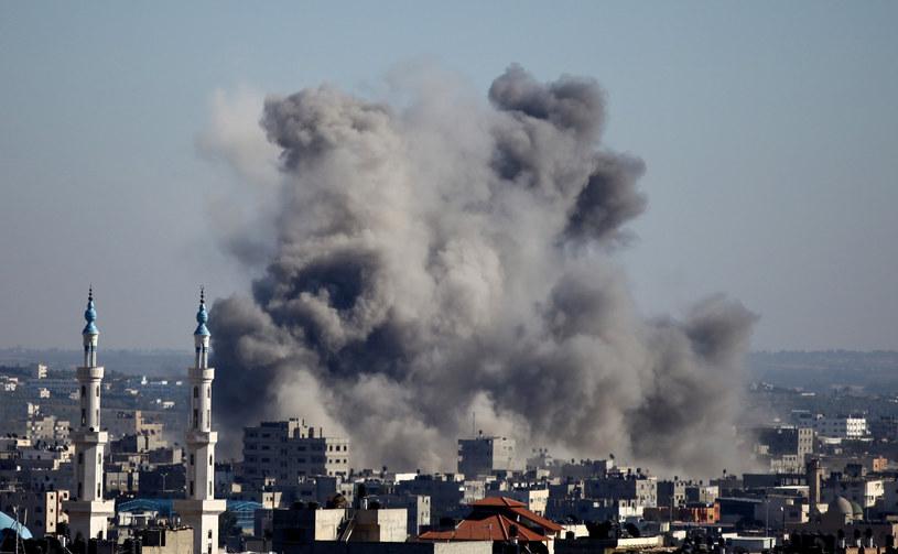 Izraelskie lotnictwo atakuje wybrane cele w Stefie Gazy /AFP