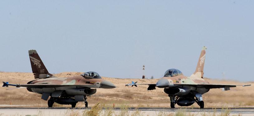 Izraelskie myśliwce F-16 /Xinhua / eyevine/EAST NEWS /East News