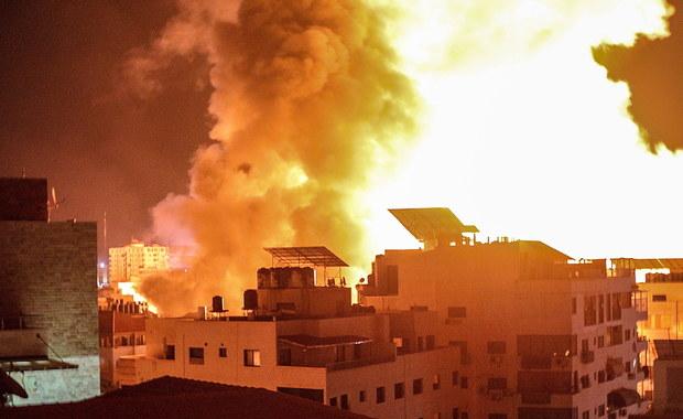 Izraelskie naloty na Strefę Gazy. Zniszczono tunele i wyrzutnie rakiet Hamasu