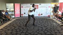 Izuagbe Ugonoh trenuje przed Narodową Galą Boksu. Wideo