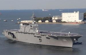 """""""Izumo"""" wchodzi do służby w japońskich siłach morskich"""