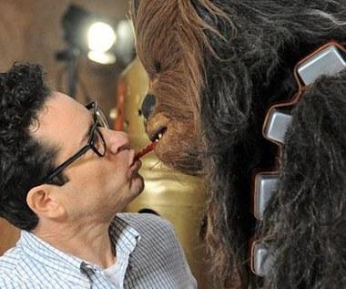 J.J. Abrams i Chewbacca w żelkowym pojedynku