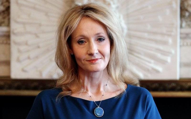 J K Rowling /LEWIS WHYLD / PA WIRE    /PAP/EPA