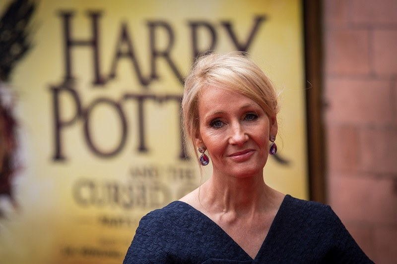 J. K. Rowling /Getty Images